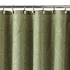 image of Wellington Shower Curtain in Green
