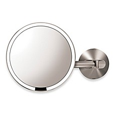 image of simplehuman® 5X Sensor Wall-Mounted Mirror