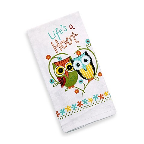 Kay dee designs life 39 s a hoot kitchen towel bed bath Kay dee designs kitchen towels