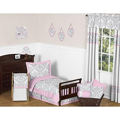 Sweet jojo designs elizabeth toddler bedding collection for Sweet jojo designs bathroom