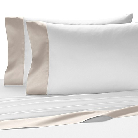 buy kassatex vicenza egyptian cotton queen fitted sheet in white ash from bed bath beyond. Black Bedroom Furniture Sets. Home Design Ideas