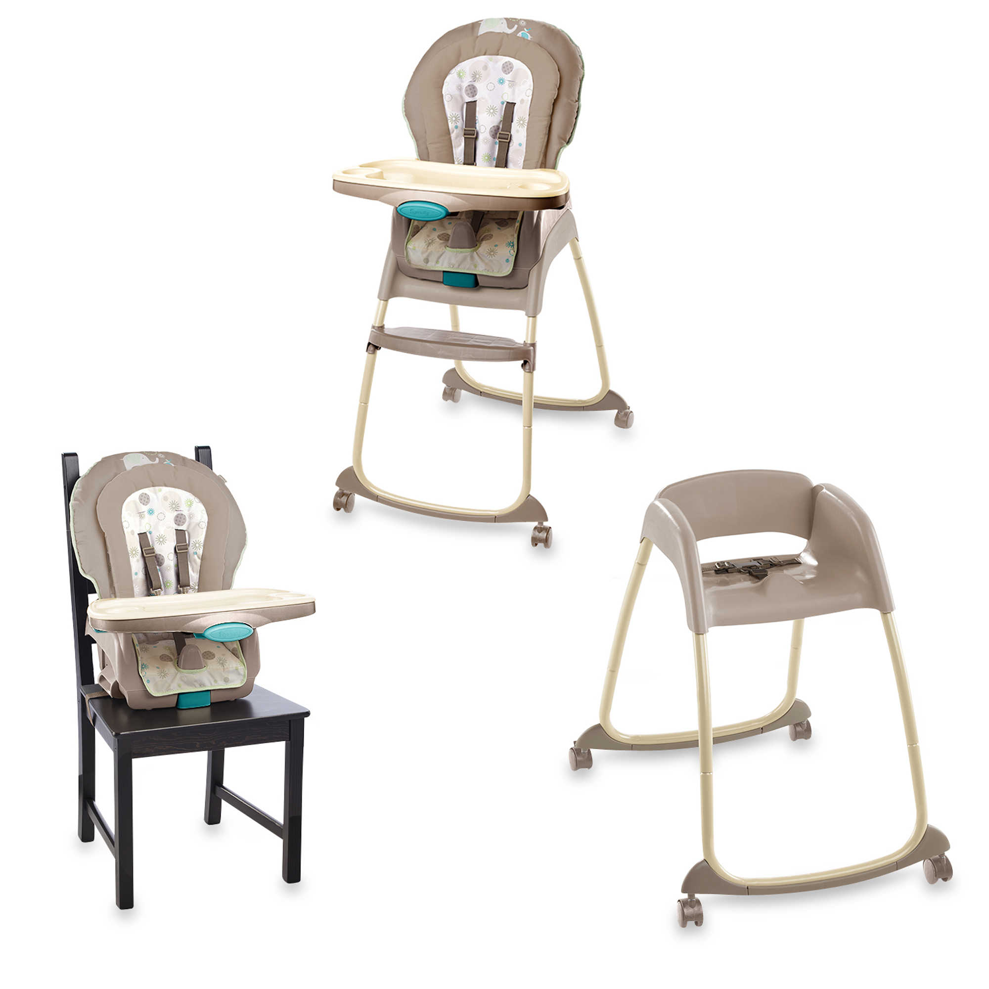 chair high wooden trio ingenuity wood in