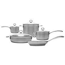 image of Chantal® Induction 21 Steel™ 9-Piece Cookware Set