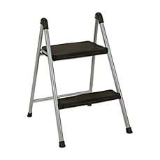 image of cosco 2step folding steel step stool - Step Stool