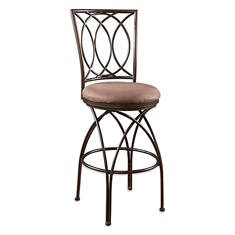 Buy Powell Big And Tall Metal Crossed Legs Barstool From