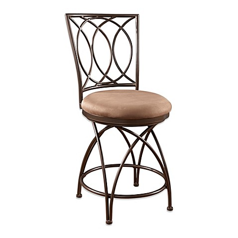 Powell Big And Tall Metal Crossed Legs Stool Bed Bath
