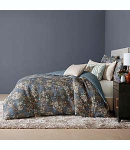 Set de funda para duvet king O&O by Olivia & Oliver™ Ambrogio en azul marino, 3 piezas