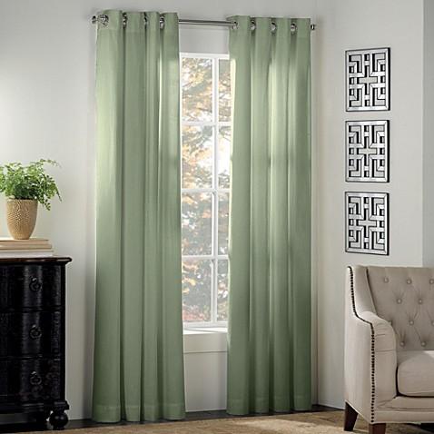 Buy Newport 63 Inch Grommet Window Panel In Sage From Bed