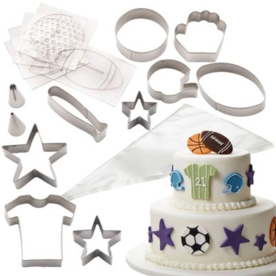 Cake Decorating Kit Bed Bath Beyond : Cake Boss Sports Cake Kit - Bed Bath & Beyond