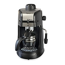 image of Capresso® Steam PRO 4-Cup Espresso & Cappuccino Machine