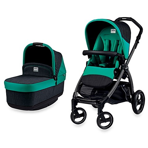 buy peg perego book pop up stroller in aquamarine from bed bath beyond. Black Bedroom Furniture Sets. Home Design Ideas