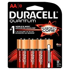 image of Duracell Quantum 8-Pack AA Batteries