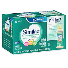 image of Similac® For Supplementation Non-GMO 8-Pack 2 oz. Bottles