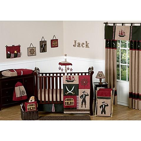 Sweet Jojo Designs Pirate Treasure Cove Crib Bedding