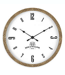 Bee & Willow™ Reloj de pared de 40.64 cm en café