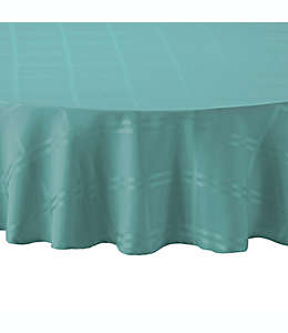 Mantel Wamsutta® de 2.28 m color turquesa