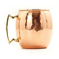 image of Old Dutch International 16 oz. Moscow Mule Mug with Hammered Finish in Copper
