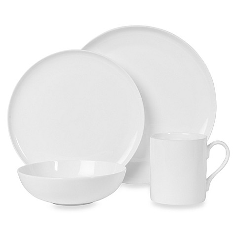 image of Nevaeh White® by Fitz and Floyd® Coupe Dinnerware Collection  sc 1 st  Bed Bath \u0026 Beyond & Casual Dinnerware - Porcelain Stoneware \u0026 Plastic Dinnerware - Bed ...