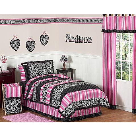 Sweet jojo designs madison bedding collection bed bath for Sweet jojo designs bathroom