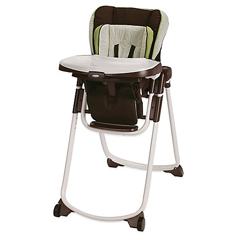 Graco® Slim Spaces™ High Chair in Go Green™
