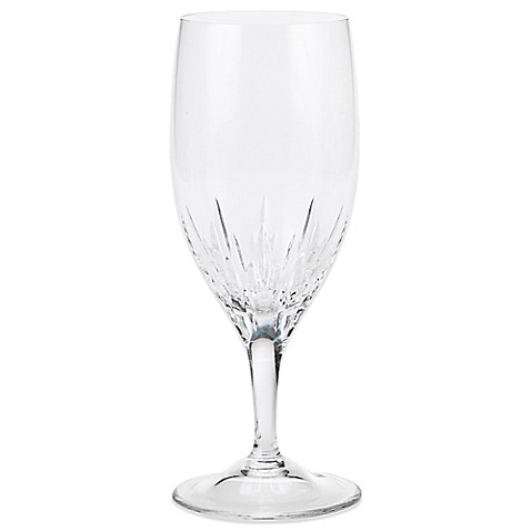 Vera wang wedgwood duchesse 12 ounce iced beverage glasses bed bath beyond - Vera wang stemware ...
