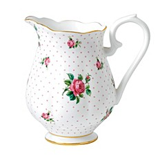 image of Royal Albert Cheeky Pink Roses Pitcher