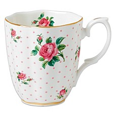 image of Royal Albert Cheeky Pink Roses Vintage Mug