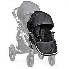 image of Baby Jogger® City Select® Silver Frame Second Seat Kit in Onyx