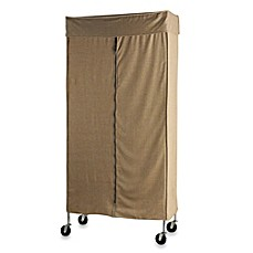 Ordinaire Commercial Grade Garment Rack With Tweed Cover