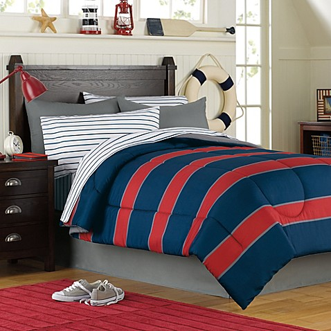 Rugby 6 8 Piece Complete Comforter Set Bed Bath Amp Beyond