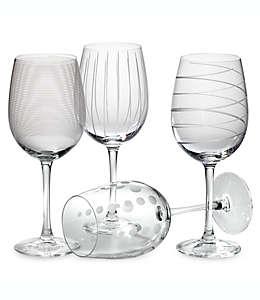 Copas para vino blanco de vidrio Mikasa® Cheers, de 473.17 mL, Set de 4 pzas.