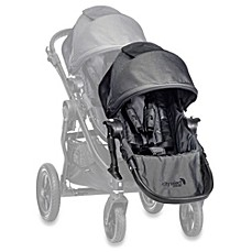 image of Baby Jogger® City Select® Black Frame Second Seat Kit in Charcoal