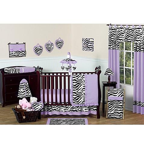Sweet Jojo Designs Funky Zebra 11 Piece Crib Bedding Set