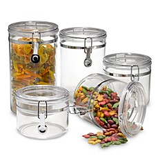 image of Oggi™ Acrylic 5-Piece Canister Set