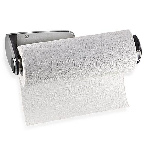 Wall Mount Paper Towel Holder simplehuman® wall-mount paper towel holder - bed bath & beyond