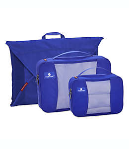 Eagle Creek™ Pack-It® Set de estuches de viaje en azul mar, 3 piezas