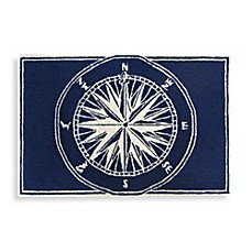 image of Trans-Ocean Compass Front Porch Door Mat