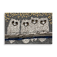 image of Trans-Ocean Frontporch Owls Door Mat