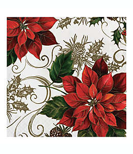 Servilletas de papel Pretty Poinsettia, 20 piezas