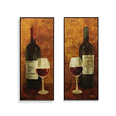 wine & cuisine wall art - bed bath & beyond