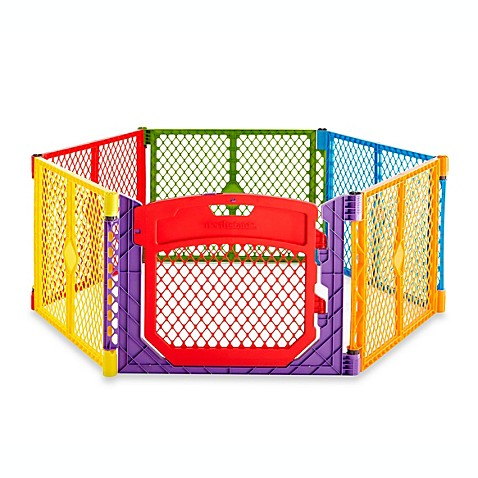 Exceptional North States Superyard Colorplay Ultimate Playard
