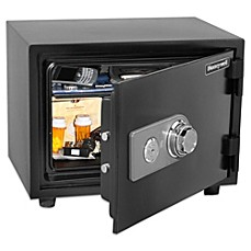 image of Honeywell Small Water Resistant Fire and Theft Safe
