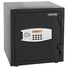 image of Honeywell Steel Water Fire Resistant Security Safe