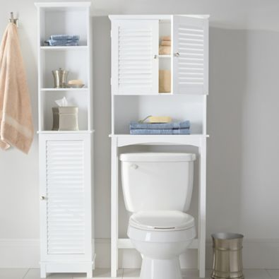 white bathroom storage tower bathroom wall closet shelf storage organizer summit 21452