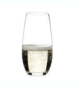 Copas flauta sin tallo para champaña de vidrio Riedel®, Set de 2 pzas.