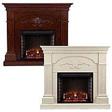 image of Southern Enterprises Sicilian Harvest Electric Fireplace
