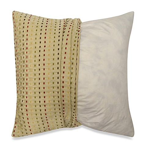 buy make your own pillow dashes square throw pillow cover from bed bath beyond. Black Bedroom Furniture Sets. Home Design Ideas