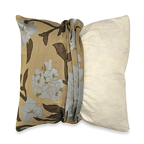 Myop Throw Pillow Covers : Buy MYOP Gardenia Square Throw Pillow Cover in Blue from Bed Bath & Beyond