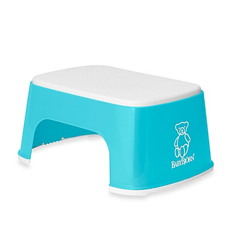 Buy Babybjorn 174 Children S Step Stool In Turquoise From Bed
