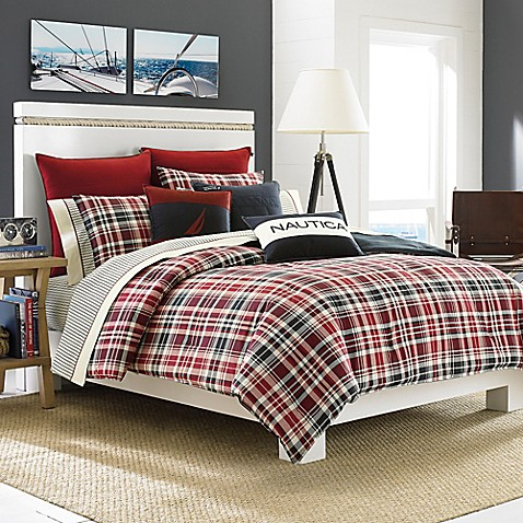 Buy Nautica Mainsail Plaid Comforter Set From Bed Bath Beyond